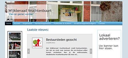 Homepage Wijkberaad Vruchtenbuurt